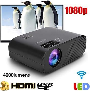 Proyector LED 3D HD 720p 16770K Colores Proyector Portátil 30000 ...
