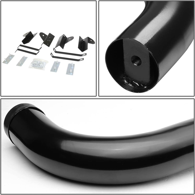 DNA MOTORING STEPB-3-025-BK Stainless Steel 3 Side Step Nerf Bar Running Board