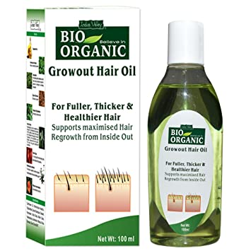 Buy Indus Valley Bio Organic Regrowth Hair Oil 11ml Online at Low ...