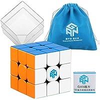 D-FantiX Gans 354 M 3x3 Speed Cube, Gans 354 M 3x3x3 Speed Cube Magic Cube Puzzles Black