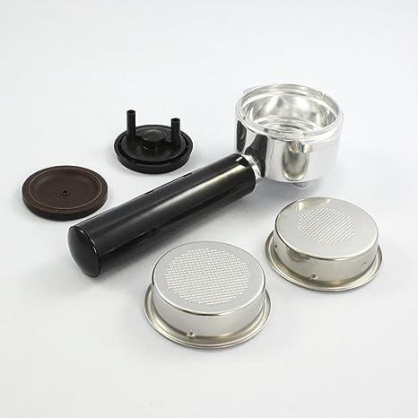 portafiltro 2 tazas con adaptador monodosis – Moka Aroma 1377 ...