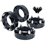 KSP 6X5.5 Wheel Spacers Fit for Tacoma 4runner, 1.5 inches Forged Hub Centric Adapters Kits fit 6 Lug Wheel with Pair of Glov