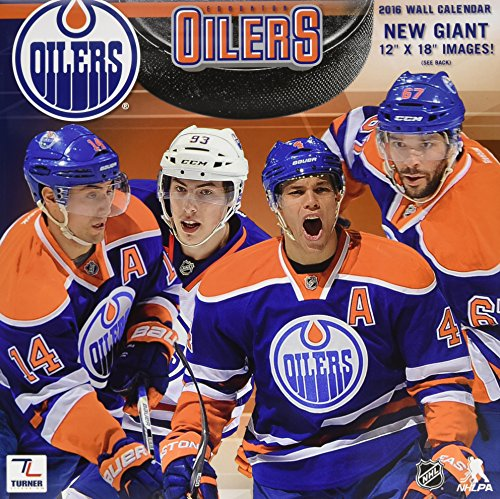 Edmonton Oilers 2016 Calendar