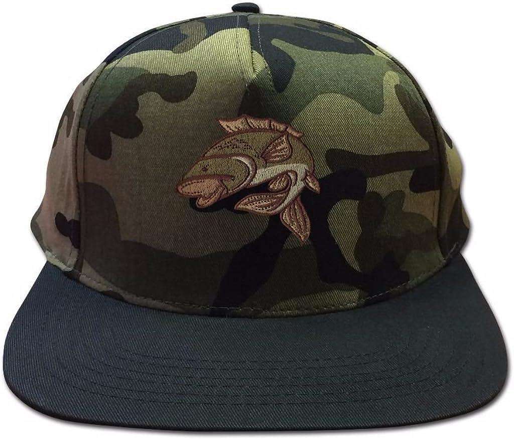 Snapback Hats for Men Carp Fishing Flat Peak Cap Baseball Caps Summer Sun Hat