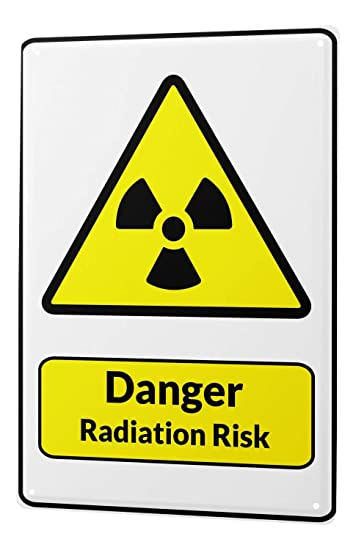 Amazon.com: Cartel de chapa señal de advertencia peligro ...