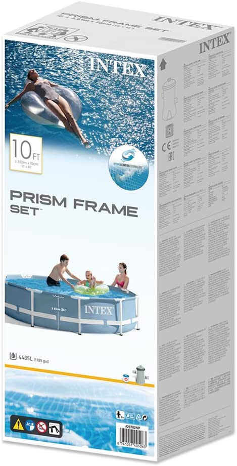 Intex 26736NP - Piscina desmontable Prisma Frame 457 x 122 cm ...