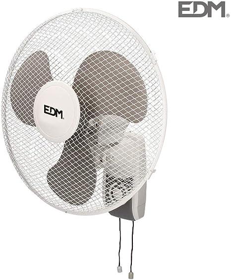 Ventilador de pared 45W 40cm 3 velocidades EDM 33915: Amazon.es ...