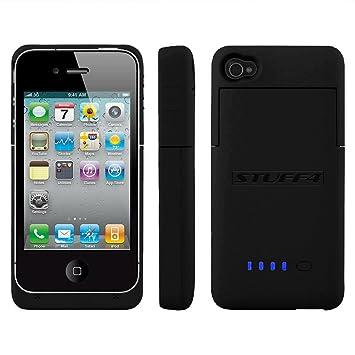 Stuff4 iPhone 4/4S batería carcasa en cargador - Partner ...