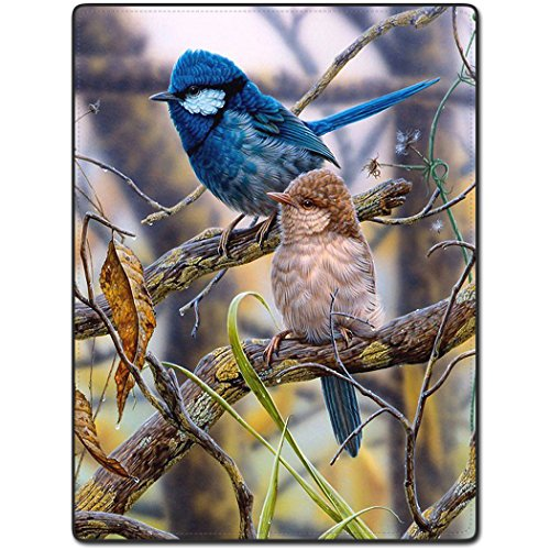TSlook 50x80 Blankets Funny Camouflage Colorfu Bird Rest Lovely Comfy Funny Bed Blanket