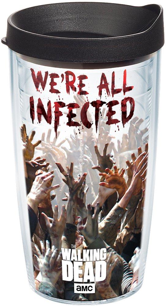 Tervis vaso AMC The Walking Dead Walkers Wrap 16OZ con tapa de viaje: Amazon.es: Hogar