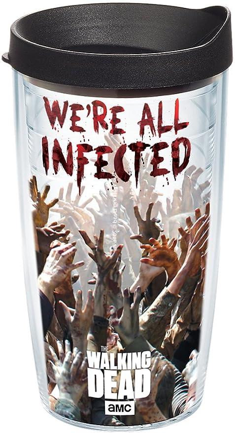 Tervis vaso AMC The Walking Dead Walkers Wrap 16OZ con tapa de viaje