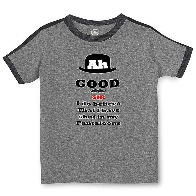 1bb27dfcbf5 Amazon.com  Ah Good Sir I Have Shat in My Pantaloons Toddler Cotton Soccer T -Shirt  Clothing