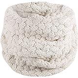 fa142da330ec KaloryWee écharpe unisexe accessoire fashion châle hiver extérieur coton  doux Cercle Capot snood chaud tricot cachemire