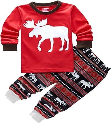 Pijamas Familiares Navideñas Pijama Navidad Familia Reno ...