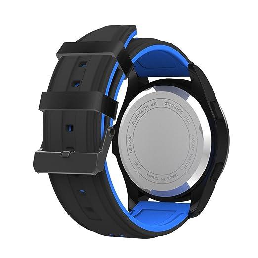 Cebbay Reloj Inteligente Impermeable IP68 Reloj Inteligente con Cronómetro Reloj de Fitness con Podómetro Cronómetros: Amazon.es: Electrónica
