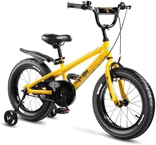 MDBYMX Bicicleta Infantil Bicicleta for niños Bicicleta de Pedal ...