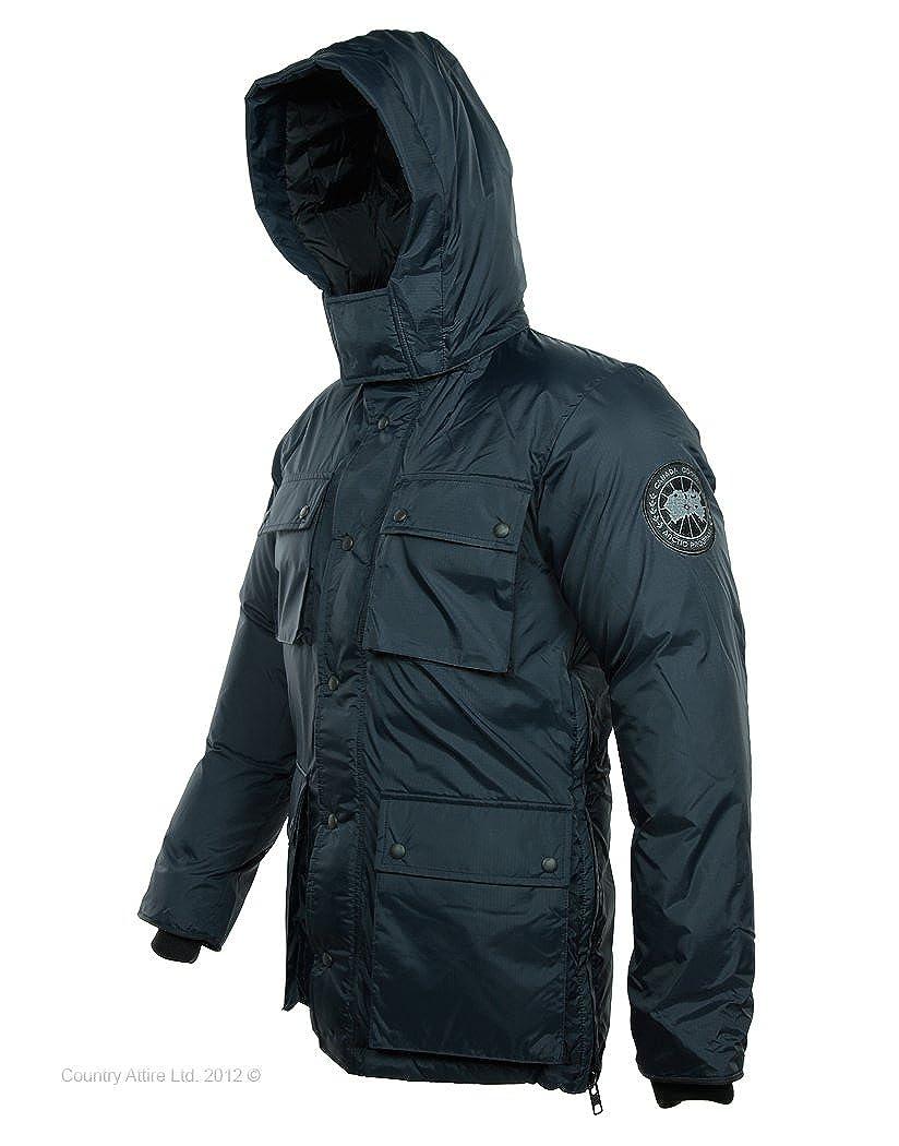 Canada Goose Men s Manitoba Jacket   Navy - L  Amazon.co.uk  Clothing 849ec1f0733f