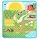 HIDEABOO Children's Portable Super Soft Activity Play Mat for Babies and Toddlers, Down On The Farm