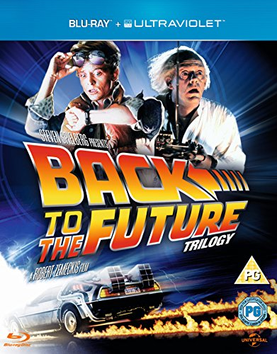 Blu-ray : Back to the Future: Trilogy