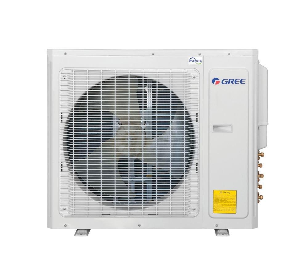 Gree MULTI30CVIR402-30,000 BTU Multi21 Quad-Zone Wall Mount Mini Split Air Conditioner Heat Pump 208-230V 9-9-12-12