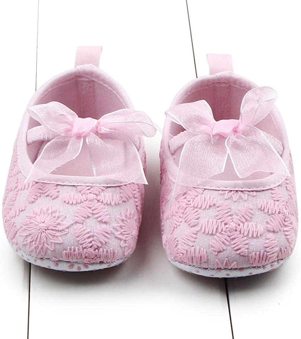 GOTD Baby Shoes Girls Soft Sole Crib Shoes Toddler Sneakers