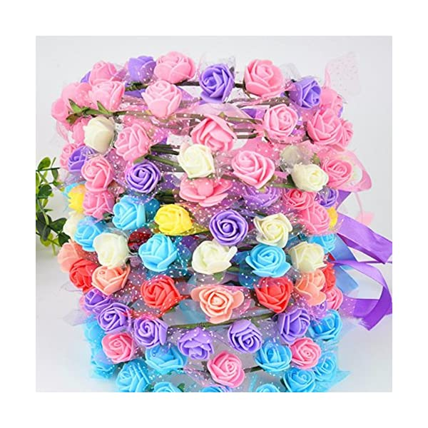 FLOWER-144pcspack-2cm-Mini-Foam-Rose-Artificial-Bouquet-Multicolor-Rose-Wedding-Decoration-Scrapbooking-Fake-Easter-Gift