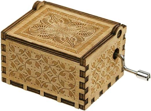 kangOnline A mi Esposa Caja de música de Madera grabada, Caja Musical de Madera grabada Vintage para cumpleaños cumpleaños Regalos de San Valentín: Amazon.es: Hogar