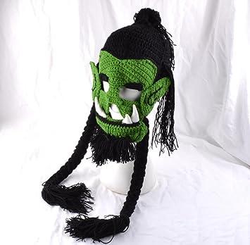 Winter Warm Männer Kinder gestrickt Monster lustigen Hut häkeln ...