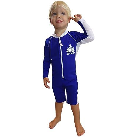 84da5bdb385 Sun Protective UV Swimsuit - Long Sleeves - SPF Protection - Boys Sun Suit