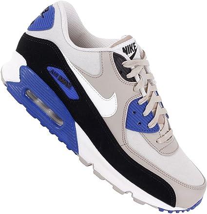 Nike Air Max 90 Premium 333888–094 BlancGrisBleu Taille 43