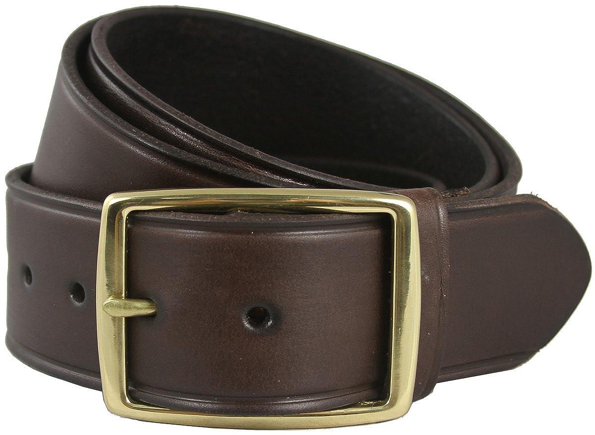 Penns Gold Mens Leather Work Belt Uniform Belt 1 3//4 Wide