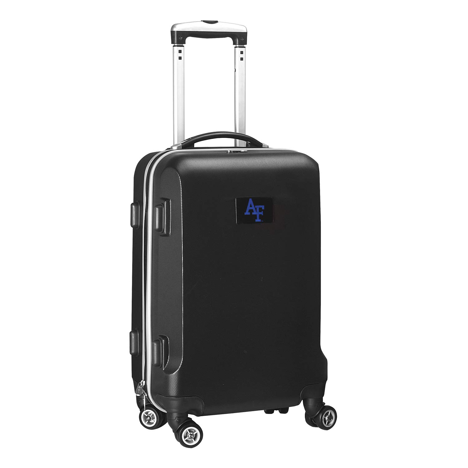 Denco NCAA Air Force Falcons Carry-On Hardcase Luggage Spinner, Black
