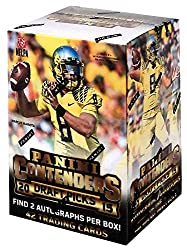 1 (One) Box - 2015 Panini Contenders Draft Picks Football Cards Blaster (7 Packs With 2 Autographs Per Box)