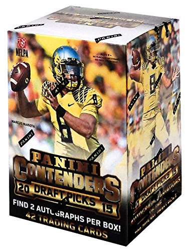 One Box Contenders Football Autographs