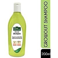 Indus Valley Bio Organic Natural Growout Shampoo for Hair Growth & Hair Nourishment - 200 ML