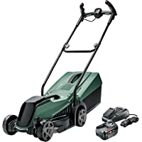 Bosch CityMower 18 Cordless Lawnmower (With 1 x 4.0Ah Battery and Fast Charger, 18 Volt System)
