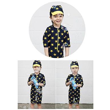 4da0cfd139c8f Amazon.co.jp: 超可愛い韓国子供服 水着  子供 水着 ラッシュガード ...