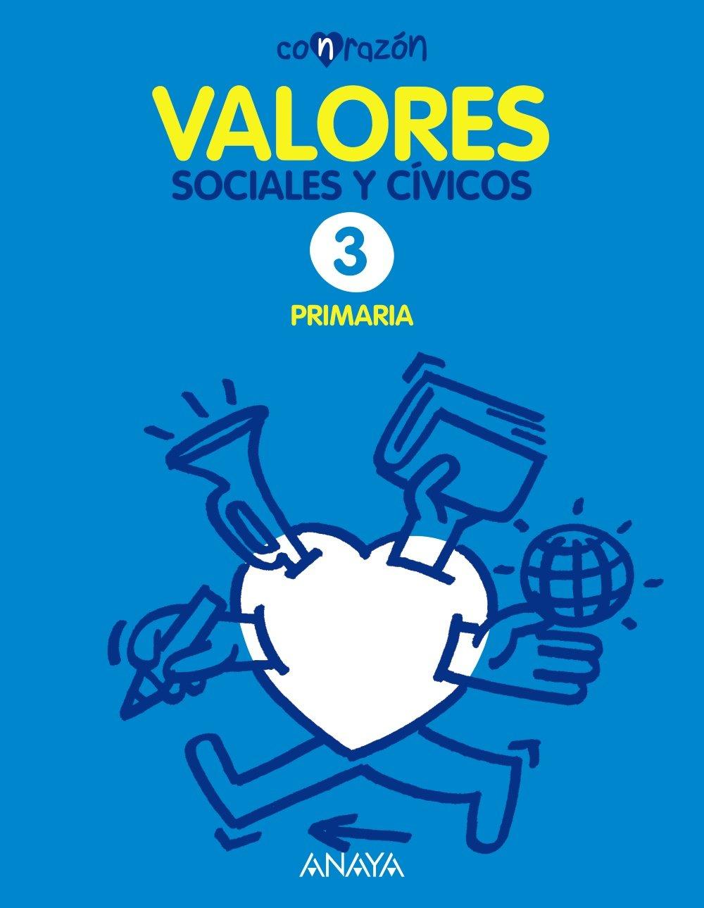 Valores Sociales y Cívicos 3 (Con razón): Amazon.es ...