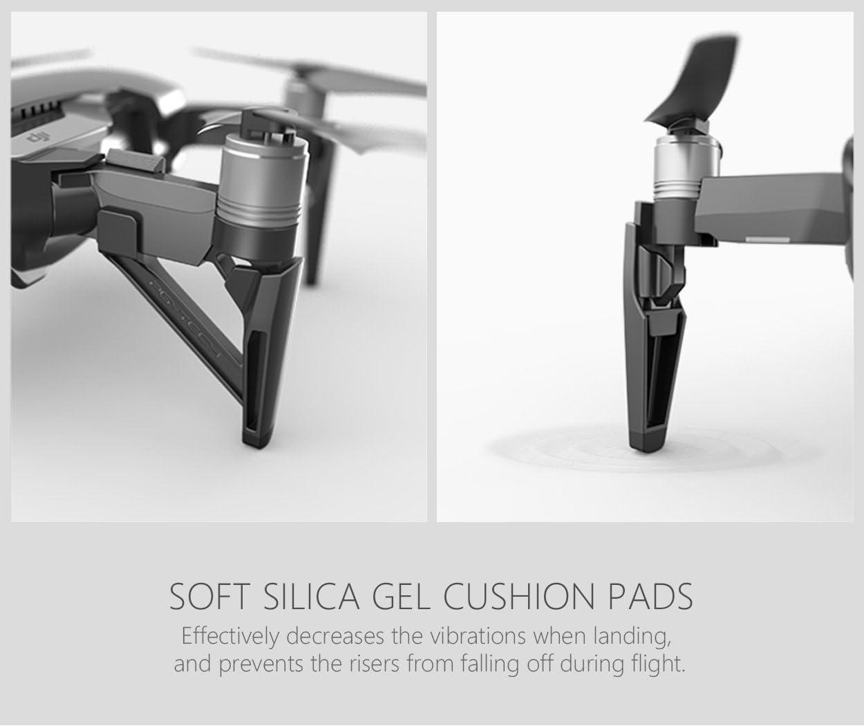 Landing Gear Aumentar el Protector extendido del Engranaje de Aterrizaje para dji Mavic Air Drone Accessories PENIVO 4 Piezas Conjunto de la Pierna del Engranaje de Aterrizaje