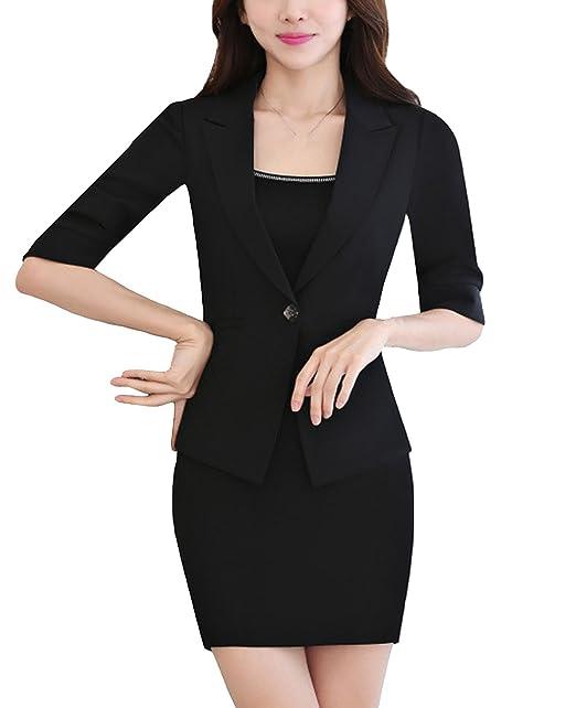 Amazon.com: MFrannie - Conjunto de trajes de oficina de ...
