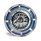 YoyoFactory FAST 201 Professional Responsive Yo-Yo With Ball Bearing & String - Blue (modern spinning yoyo, high speed steel ball-bearing, string and tips included)