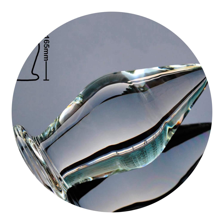 Relax Plug 80mm Super Huge Size Glass Plug Large Crystal Ball Fake Masturbate Adūlt Sexxrt-Toy for Women Men Shirt,80mm Shirt,Adūlt Sexxrt-Toys Pet Bunny