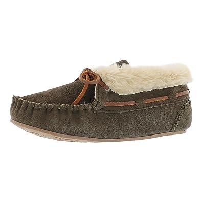 Amazon Com Softmoc Women S Bali Hi Plain Moccasin Bootie Slippers