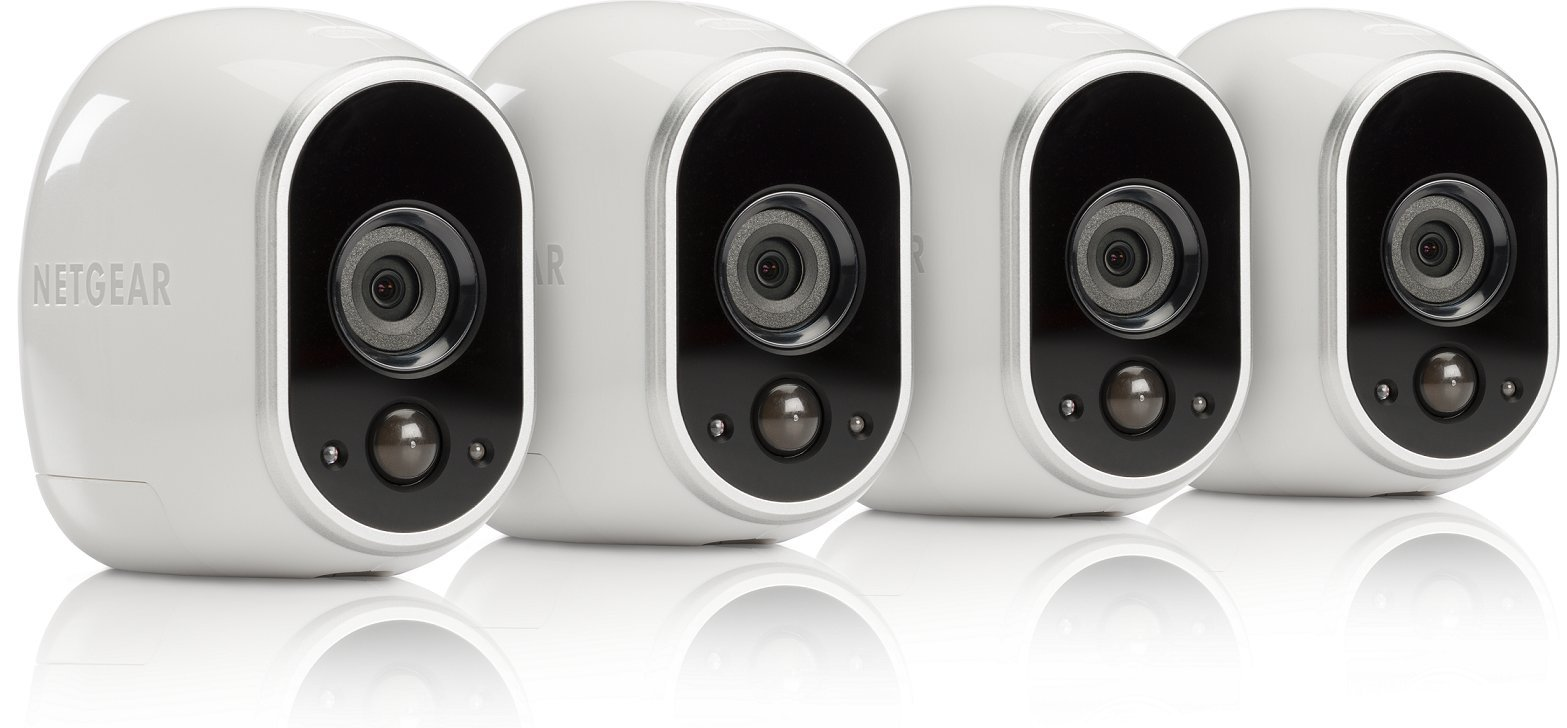 Arlo Security Camera - 4 Add-on Wire-Free HD Camera (Base Station Not Included), Indoor/Outdoor, Night Vision (VMC3430)