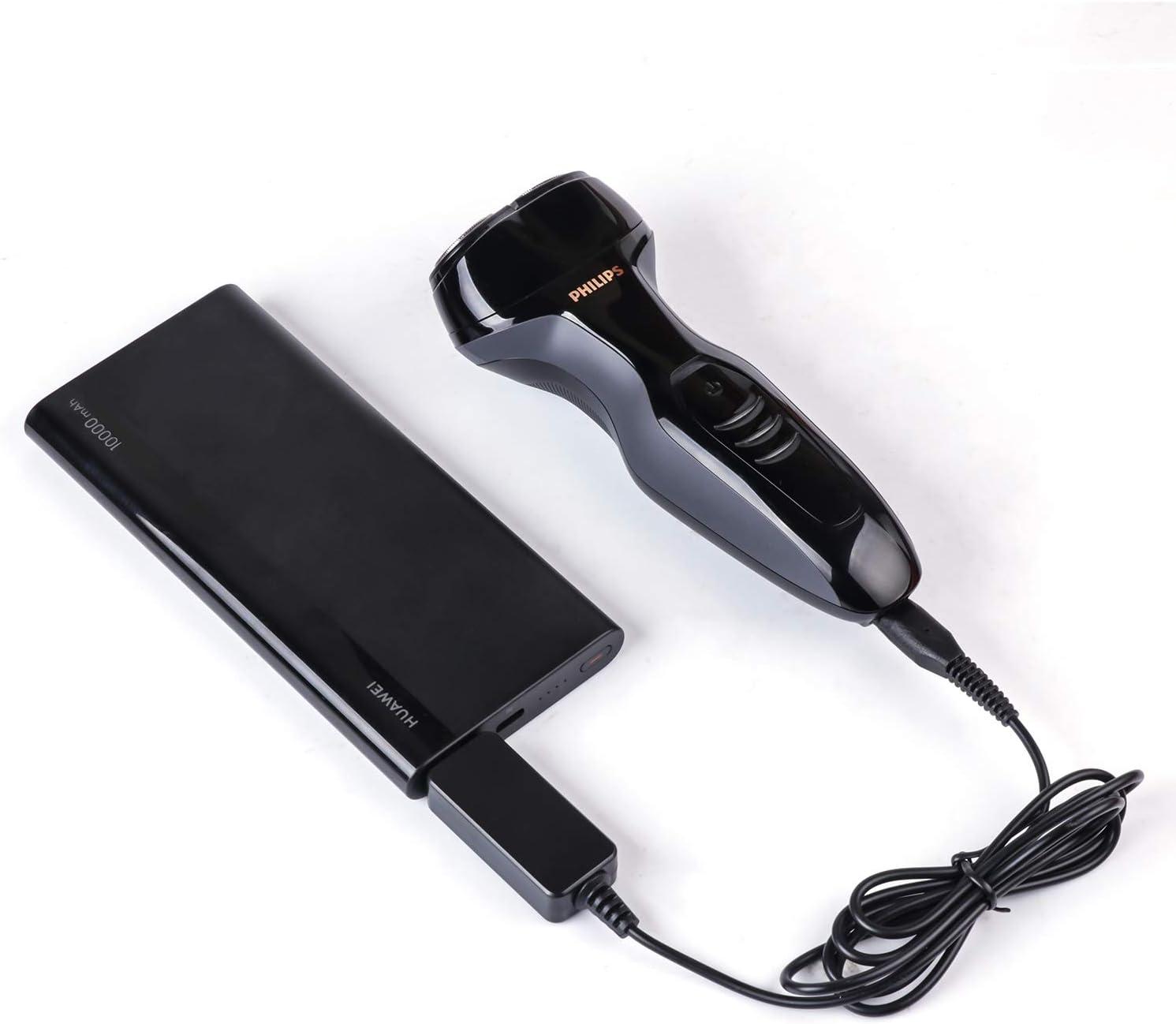 Hincore Cable USB Hincore 4.3V para afeitadora de afeitar Philips ...
