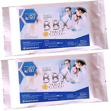 Amazon | BBX ダイエット サプリ ジェームフードアンドドリンク 30錠×2 ...