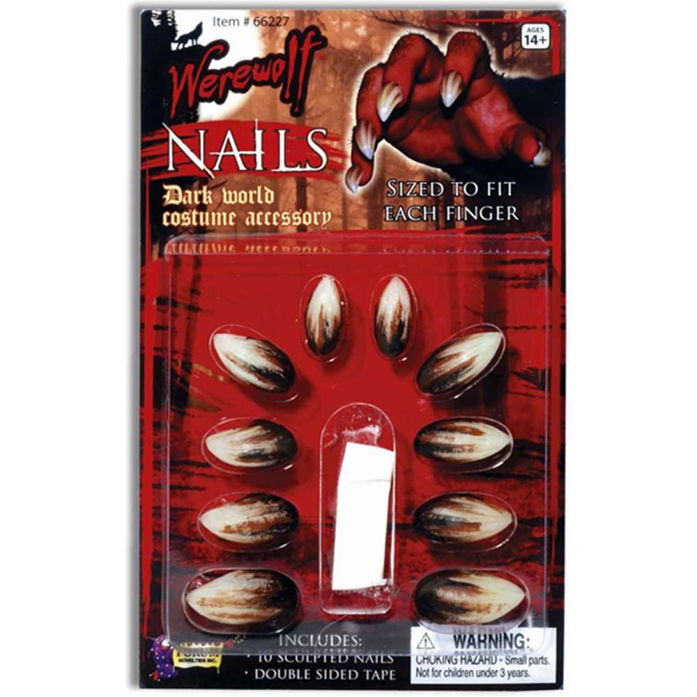 Forum Novelties Werewolf Nails FM66227