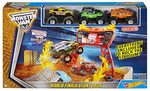 monster jam hot wheels - 3
