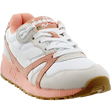 Diadora Unisex N9000 III White Peach Pink 8.5 Women   7 Men M US Medium 84f628042