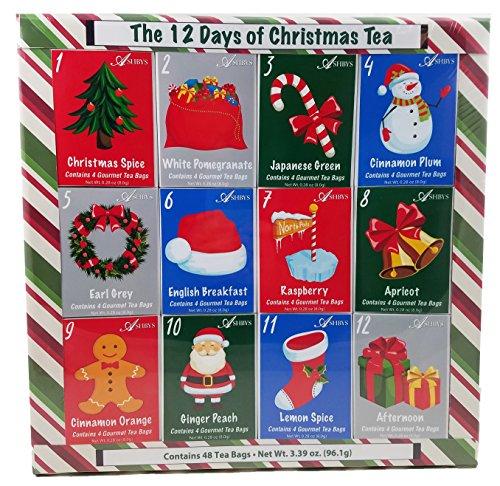 The 12 Days of Christmas Tea by Ashbys Tea